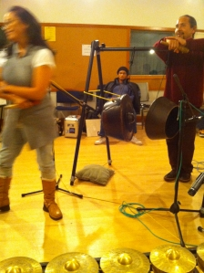 Kulintang and Agung in the KPFA studio